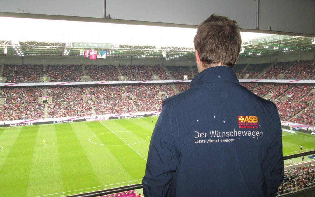 """Die """"Fohlen"""" von Borussia Mönchengladbach haben viele leidenschaftliche Anhänger…"""
