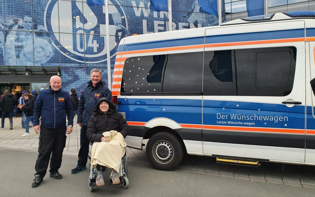 """Ein unvergesslicher Tag """"auf Schalke"""""""