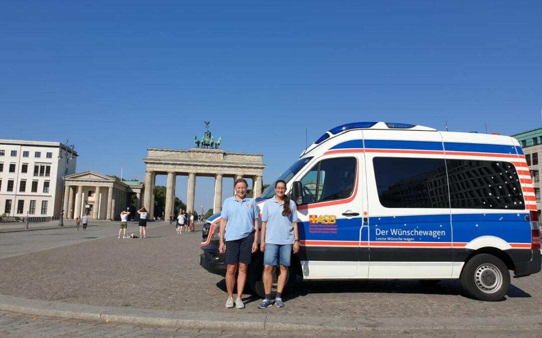 Abschied von der Heimatstadt Berlin…