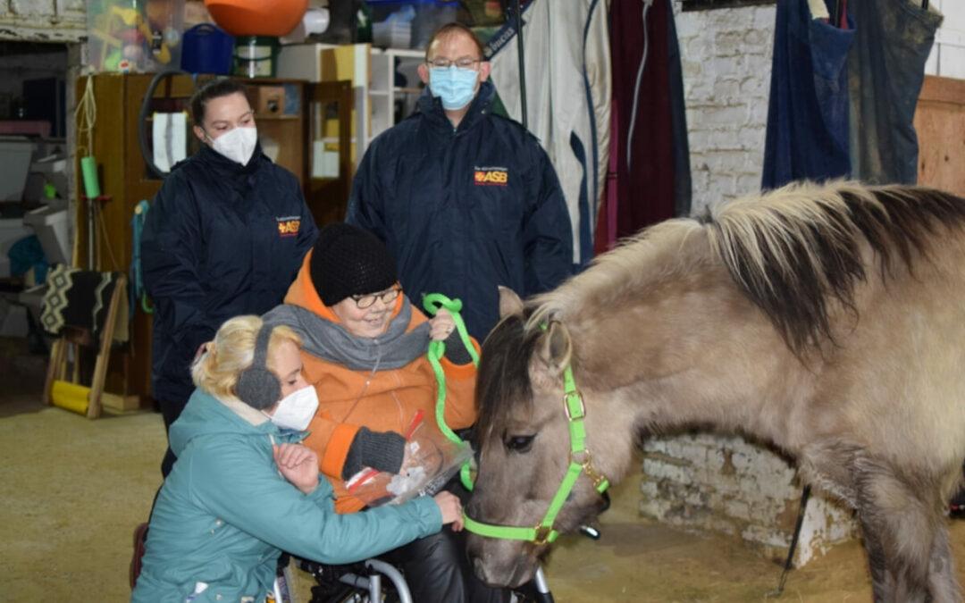 Zum letzten Mal bei den geliebten Pferden auf dem Reiterhof…