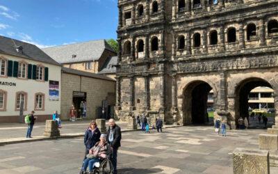 Noch einmal nach Trier an den Ort der Hochzeitsreise…