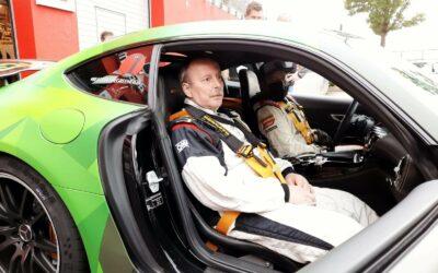 Als Co-Pilot auf dem Nürburgring…